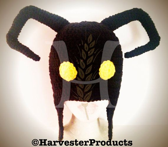 Kingdom Hearts Free Crochet Patterns : Custom Crochet Heartless Kingdom Hearts hat