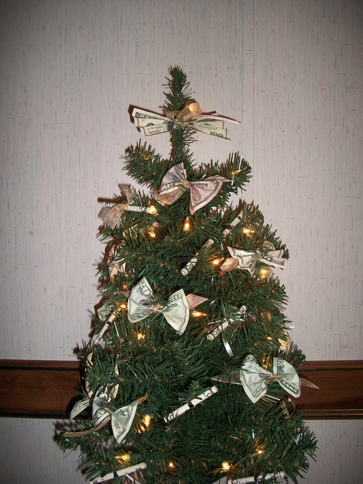 money christmas tree | Gift Ideas | Pinterest