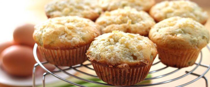 Ginger Zucchini Muffins