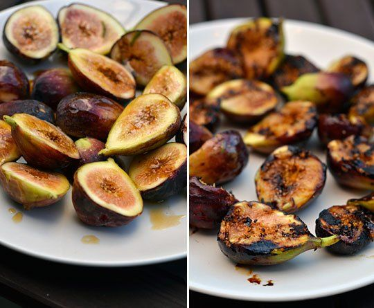 Figs/Dessert Recipe: Grilled Figs with Honeyed Mascarpone — Recipes ...