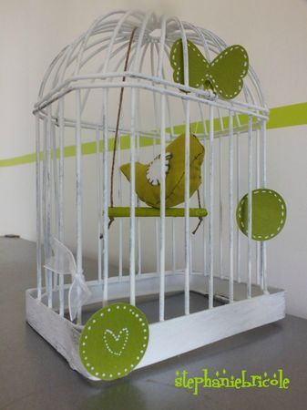 Deco diy bird cage and sewing bird craft ideas pinterest for Deco cage a oiseau