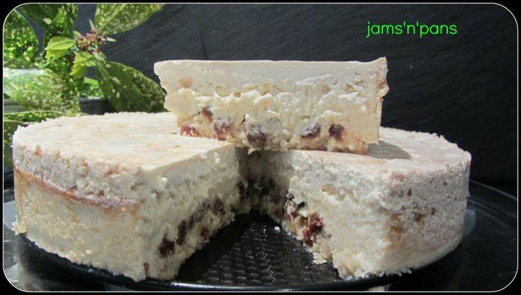 Cheesecake.... Rum,raisin and coconut | Yummy ! Yummy ! | Pinterest