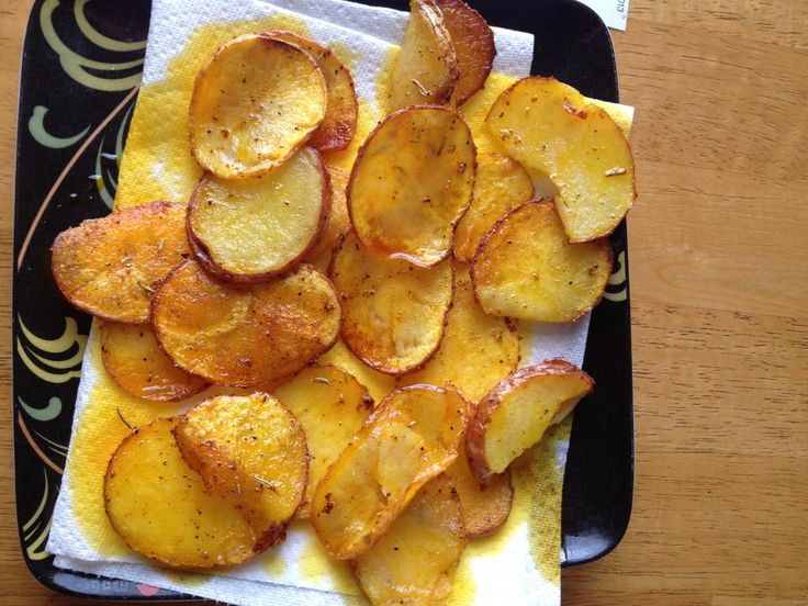Smoked Paprika Potato Chips Recipe — Dishmaps
