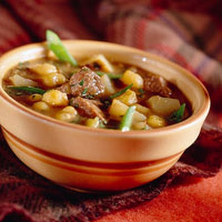 Tender Pork and Green Chili Slow Cooker Stew
