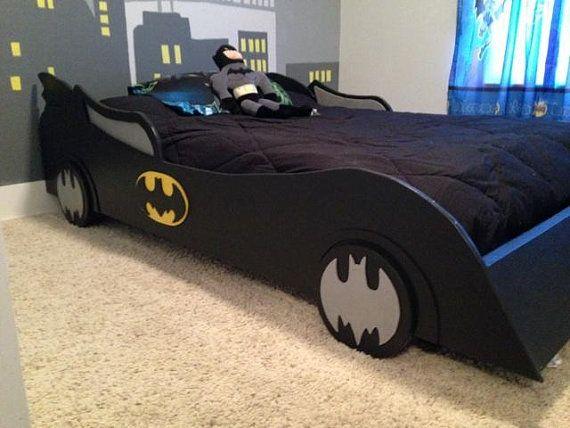 Deluxe Batmobile Bed Full Size