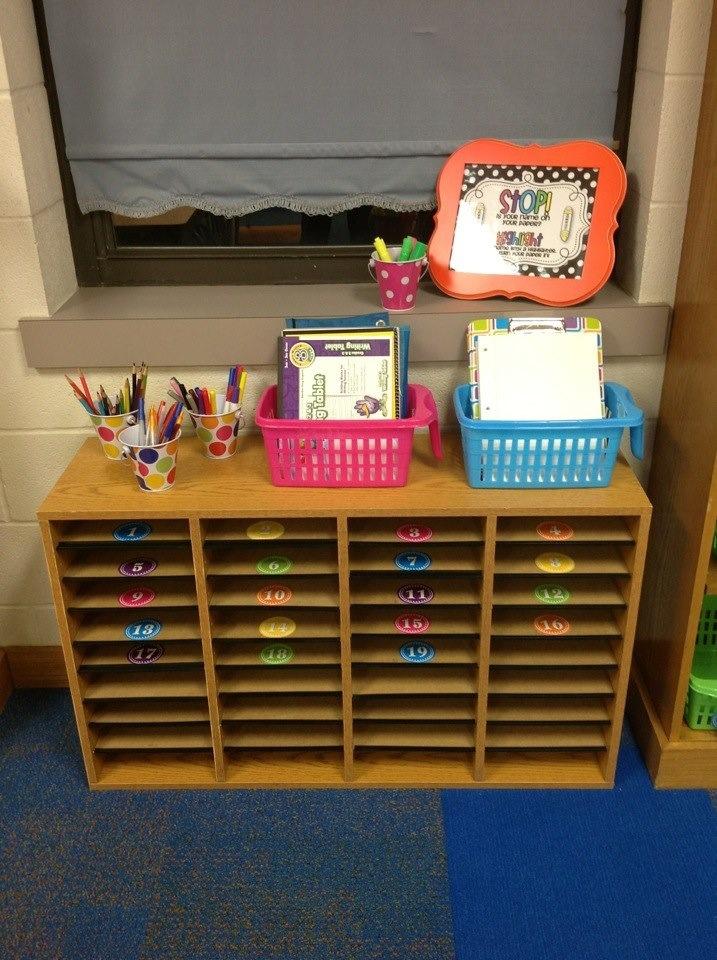 Classroom Mailbox Ideas ~ Student mailboxes nd grade classroom pinterest
