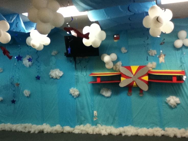Balloon clouds my decor pinterest for Balloon cloud decoration