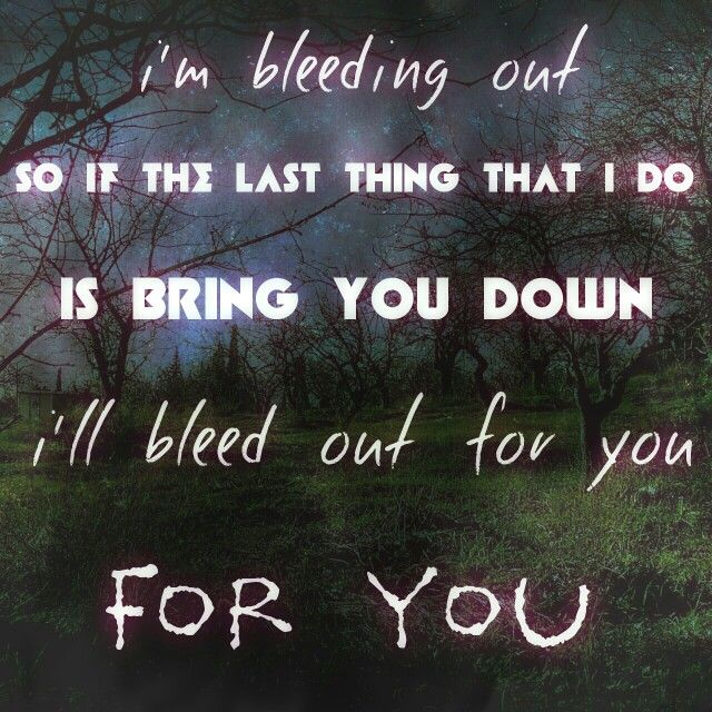 Bleeding Out Imagine Dragons Quotes. QuotesGram