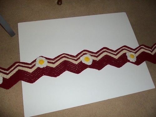 Bacon and eggs scarf | Crochet Patterns | Pinterest