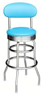 retro aqua bar stool Spring 2013