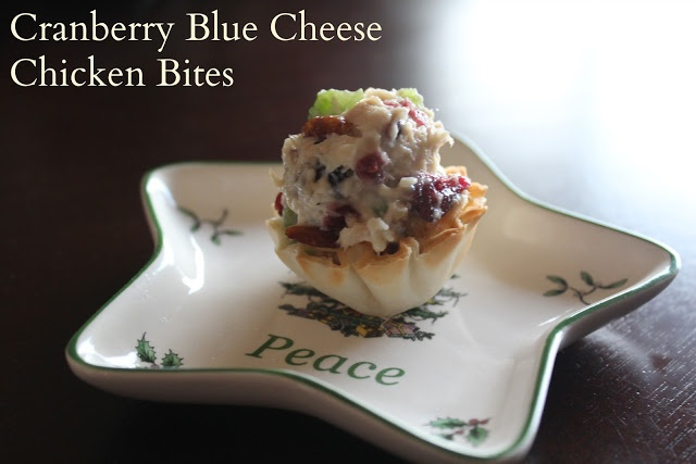 Cranberry and Blue Cheese Chicken Bites | My Recipe Ideas -- BALANCE ...