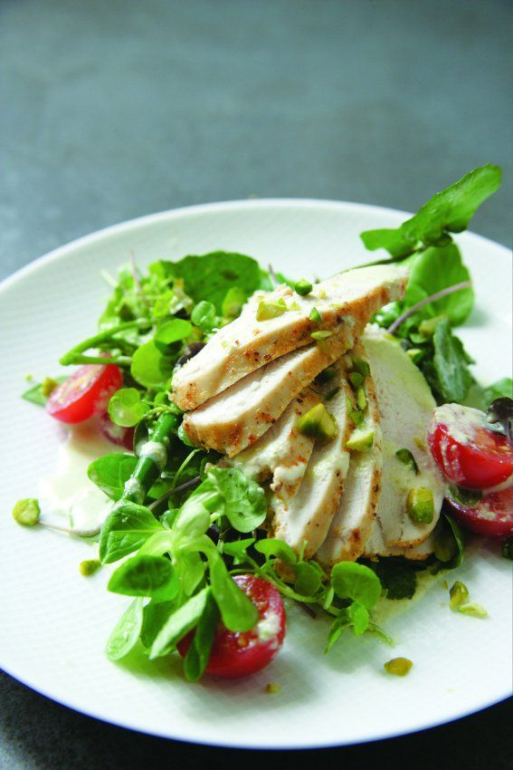 ... for their salads, but this chicken tikka salad dish may change that