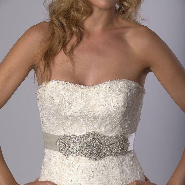 lola wedding dress belt