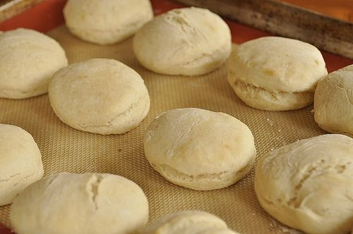 Angel biscuits - uses yeast & is lighter than biscuit but not quite a ...