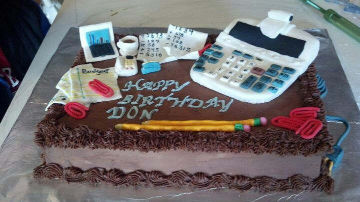 Birthday Cake For Chartered Accountant