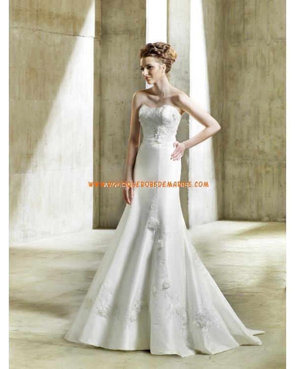 Robe de mariée sirène floral avec cape  Robe de mariée  Pinterest