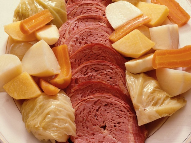 ... our St. Patrick's Day tradition. Slow cooker corned beef and cabbage