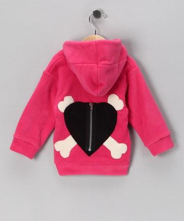 Hot Pink Zip-Up Hoodie - Infant & Toddler