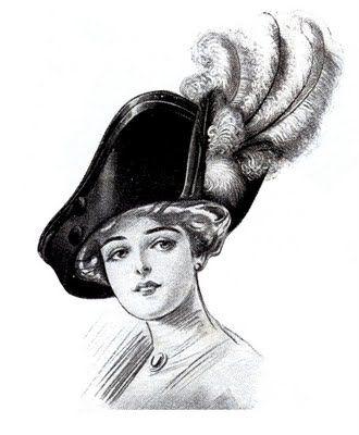 Victorian hats!