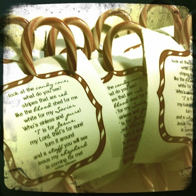 Circles Of Sunshine: The Candy Cane Poem- DiY Friend or Neighbor Gift