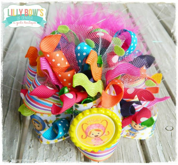 Umi zoomi funky loopy bow facebook lilly bows of denver or ww