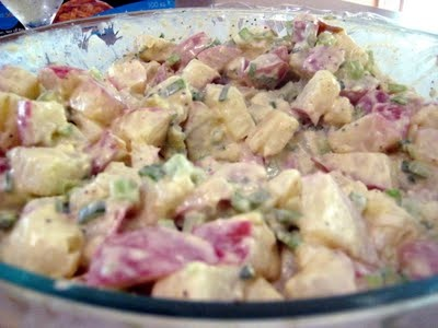 Curried New Potato Salad | What's Going on in Our Kitchen | Pinterest