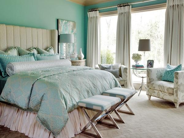 blue green master bedroom make it feel like home pinterest