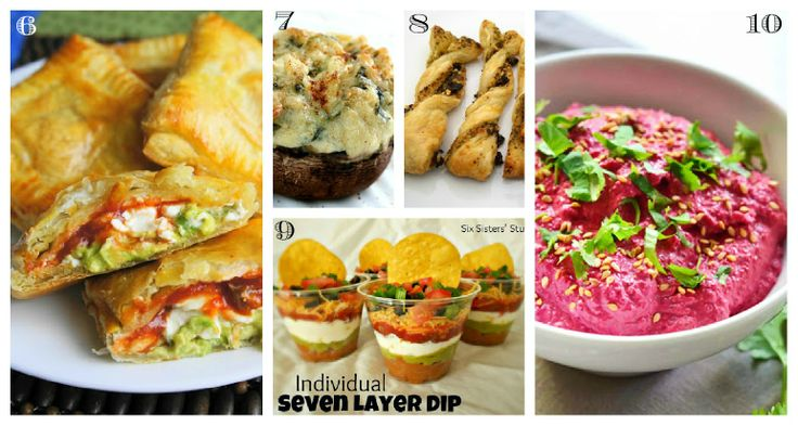 25 Unique and Yummy New Years Eve Appetizers | Savoury Recipes