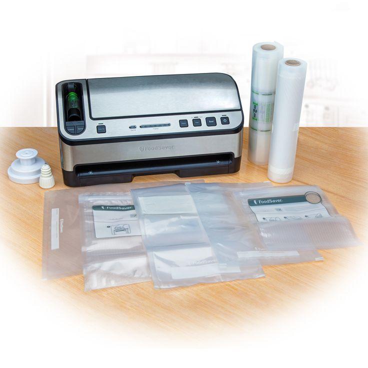 The NEW FoodSaver® 2-In-1 Vacuum Sealing Kit $199.00 .....like this ...