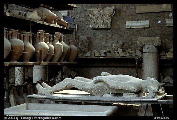 Petrified Man From Pompeii