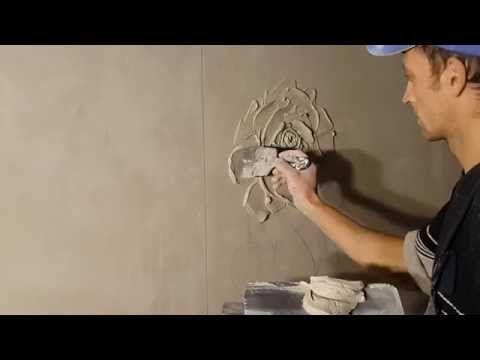 Декоративная штукатурка своими руками из гипсовой шпаклевки 17