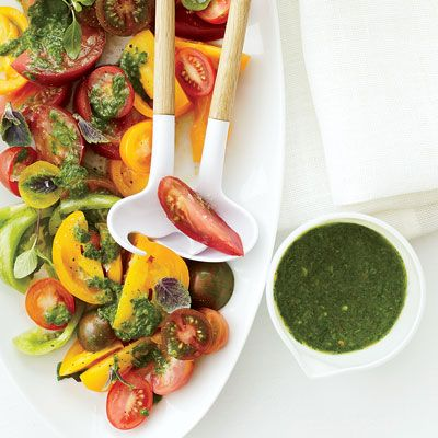 ... summer. Basil Vinaigrette Recipe - Salad Dressing Recipes - Delish.com