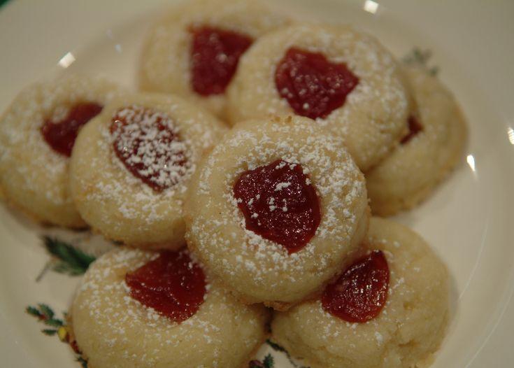 thumbprint cookies mandarin cranberry thumbprint cookies nutty caramel ...