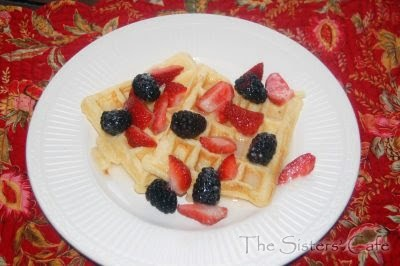 Sour Cream Waffles | The Sisters Cafe | Recipes I've MADE | Pinterest