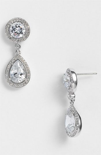 Nadri Crystal  Cubic Zirconia Drop Earrings (Nordstrom Exclusive ...