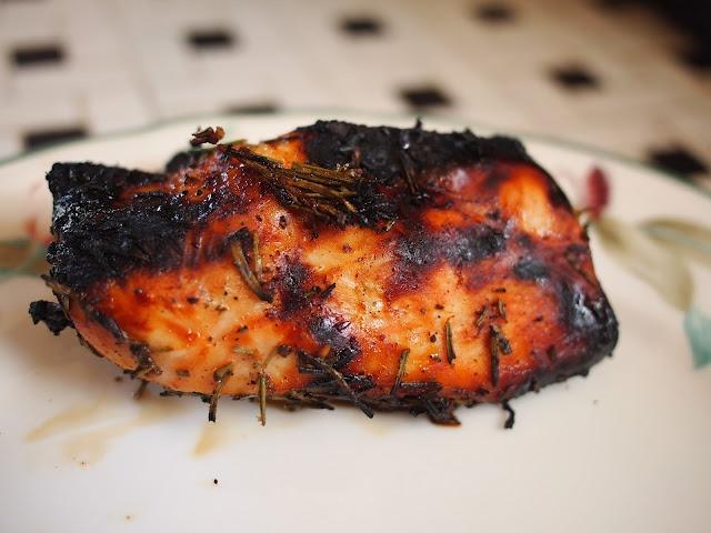 ... honey lemon rosemary grilled chicken yield serves 4 this honey lemon