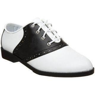 Womens saddle shoe. Clothing stores