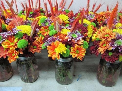 W fall mason jar centerpieces crafts pinterest