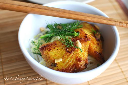 Vietnamese Fish with Tumeric & Dill | Yummies | Pinterest