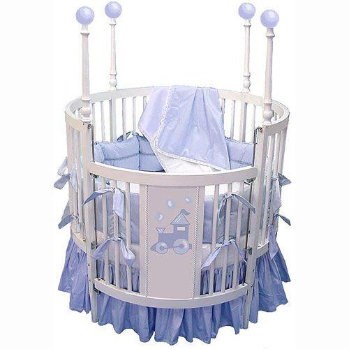 Choo Choo Round Baby Crib Furniture Pinterest
