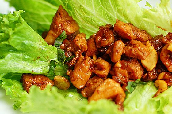 Cashew chicken - I used balsamic instead of the rice vinegar and left ...