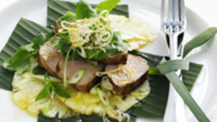 Thai pork and pineapple salad recipe : SBS Food