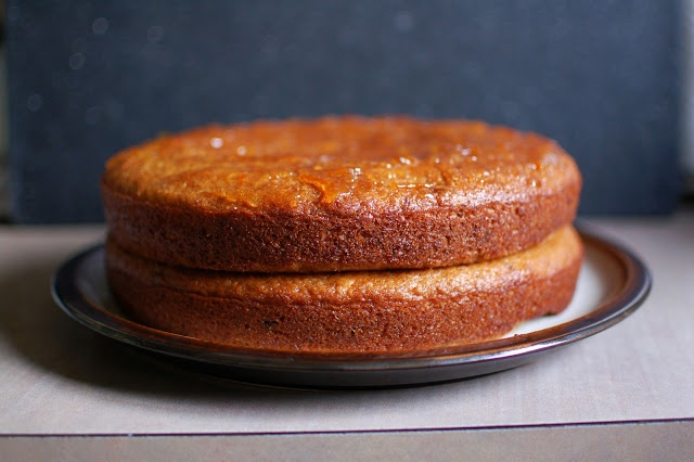 Sticky Orange Cake with Marmalade Glaze | Sweets | Pinterest