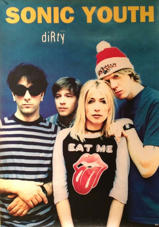 Sonic youth saw them live as well