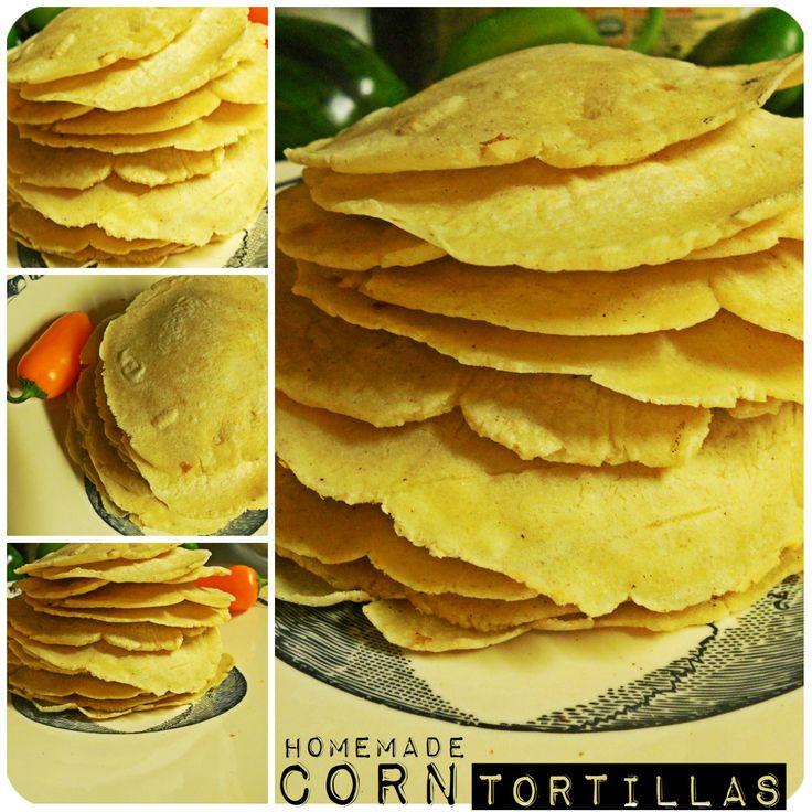 Homemade corn tortillas #Gf #vegan | low carb/wheat free | Pinterest