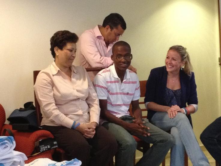 Fabrice, Haiti, has had type1 #diabetes for 9 months, thanks Dr Nancy... #Ayuda2012