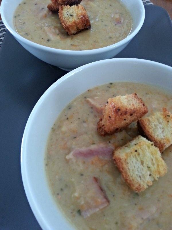 White Bean and Ham Soup | Winter | Pinterest