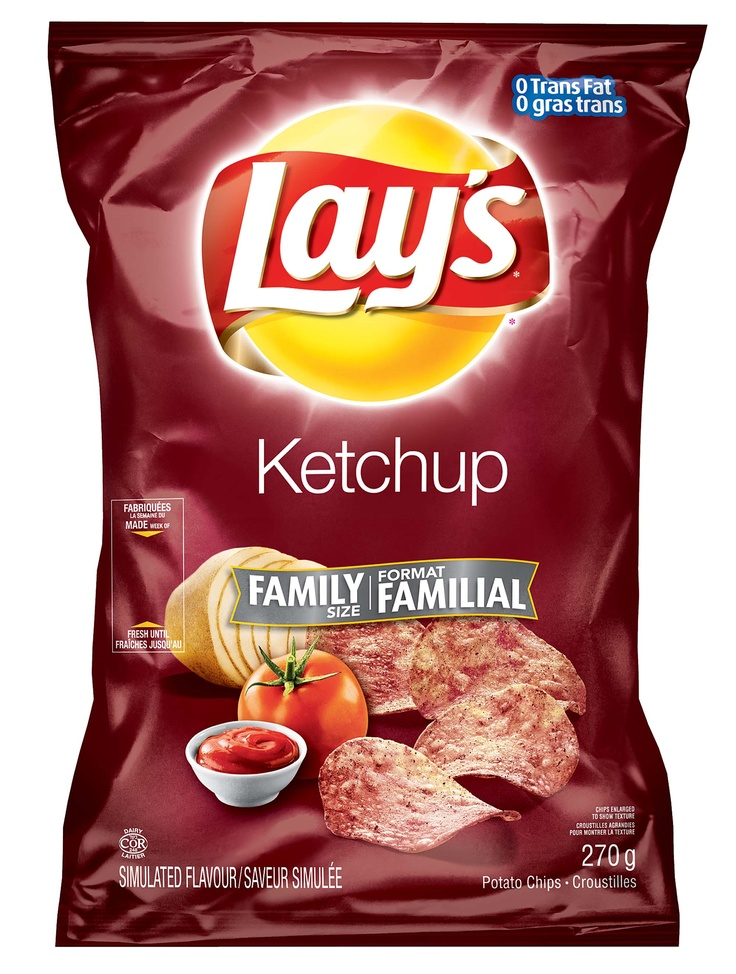 Lay's® Ketchup Flavoured Potato Chips- Things I miss the most!