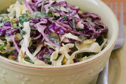 ... Kitchen®: Recipe for Spicy Mexican Slaw with Lime and Cilantro