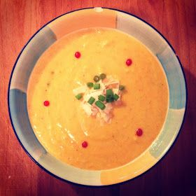 Life: How I Run It: Spicy Roasted Acorn Squash Soup